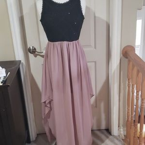 Soieblu dress with two tone